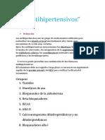 Antihipertensivos Parte 1
