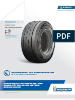 De Michelin x Multi t2 385 55 r 22.5