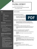 resume updated jan 2018