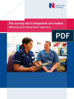 02.14 t he Nursing Role in Integrated Care ModelsReflecting on the United States Experience
