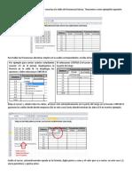 Digite Los Datos en Una Hoja de Excel y Construya La Tabla de Frecuencias Básica