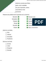 Vocabulario de Oposiciones III