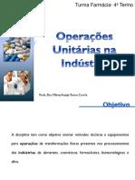 Operações Unitárias Industria