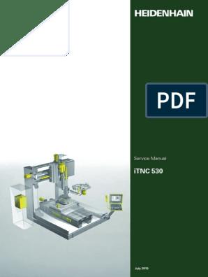 ITNC 530 Service Manual 07 2010 En   Servomechanism   Power Supply