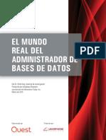 El Mundo Real Del Administrador de Bases de Datos White Paper 24869