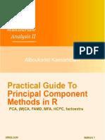 Practical PCA Methods in R