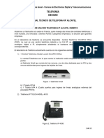 Manual Telefonica Alcatel