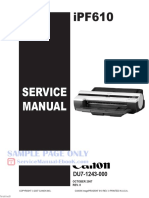 Canon Imageprograf Ipf610 Service Manual Free
