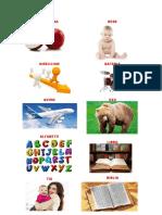 Manzana Direccion Avion Alfabeto