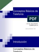 Conceptos Basicos de Telefónia (Presentación)