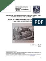 Instalaciones Acordes Con Diferentes Sistemas de Producción