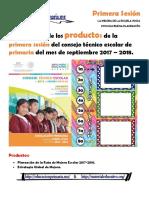 1- Productos Primera Sesion Cte- Ricardo- Barrio de en Medio