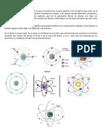 Átomo y Molecula