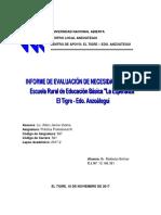 Informe Fase II, Etapa i