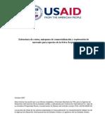 Estructura de Costos Madera
