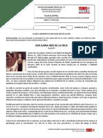 B1 Taller 3. Biografía de Sor Juana Inés de La Cruz