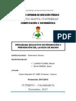 Programa Educativo Para La Salud