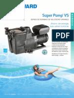 HAYWARD Super Pump vs Sell Sheet Spanish