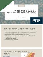Cancer de Mama PRESENTACION