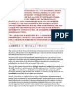 Module 5. Muscle Tissue17