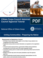 Citizen Corps Council Admin Guide