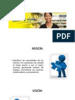 Mision y Vision Santa Maria