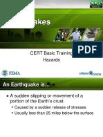 Hazard1 Earthquakes Slides Jan2011