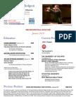new resume - hodgson jan
