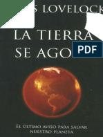 James Ephraim Lovelock-La Tierra Se Agota. 1-Planeta (2011)