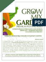 Brochure Growmixgarden Sustratos Premium