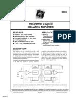 Isolation Amplifier