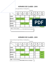 Formato de Horario - 2017 Final