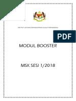 Modul Booster MSK 1 2018