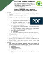 Surat Pengumuman Surveior FKTP