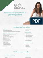 100 Ideas de Cursos Online Vf