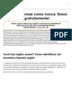 Você Fala Inglês Assim_ Como Identificar Um Brasileiro Falando Inglês - Babbel