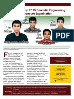 2015 Sept - Dec Newsletter
