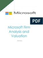 Microsoft Financial Statement Analysis