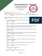 Accounting 1 Prelim Quiz 2