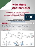 Transparent Laser
