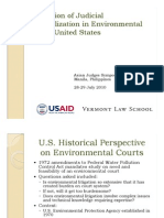 Siu Tip Lam - Evolution of Judicial Specialization in Environmental Law – United States
