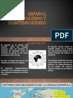 Español Moderno y Contemporáneo