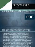 NURS445 Assessment & Triage