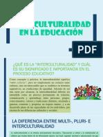 Interculturalidad en La Educación