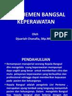 Manajemen Bangsal Keperawatan - Juni 2014