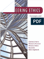 Engineering Ethics Concepts and Cases Jr. Charles E. Harris, Michael S. Pritchard, Michael J. Rabins, Ray James, Elaine Englehardt
