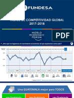 Indice de Competitividad Global 2017 2018