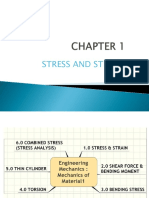 Chapter 1 Stress and Strain