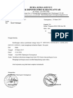 Surat Sosialisasi Pt. Adidas Brebes