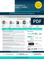 2018 Brochure Decommissioning and Abandonment Summit